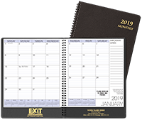 Exit Monthly Planner
