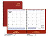 Red Monthly Planner